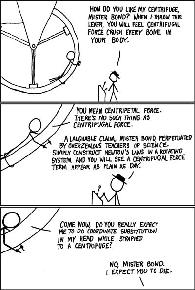 XKCD cartoon in the style of James Bond