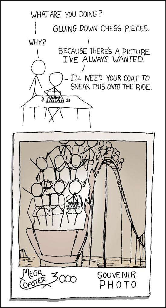 Chess comic