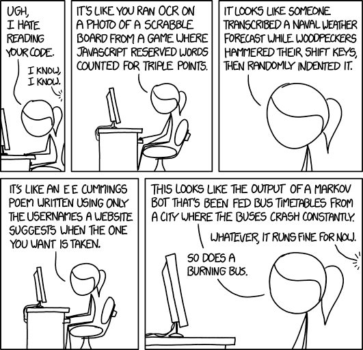 Code Quality 2 from xkcd