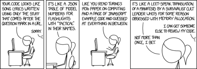 xkcd code review