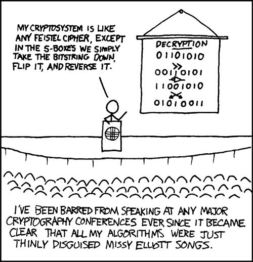 Missy Elliot Encryption