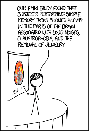 XKCD comic about MRIs in research