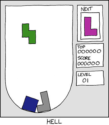 xkcd - Hell - 07 April 2010