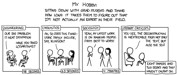 xkcd | The Ego Chronicles