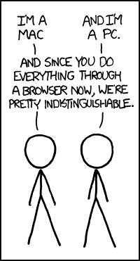 xkcd: Mac/PC