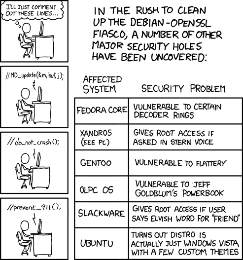xkcd: Security Holes