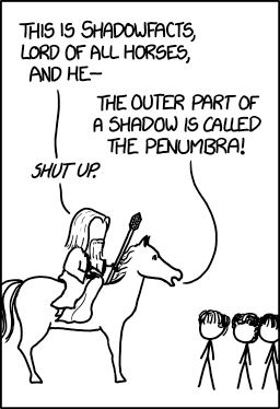 xkcd shaowfacts