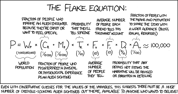The Flake's equation