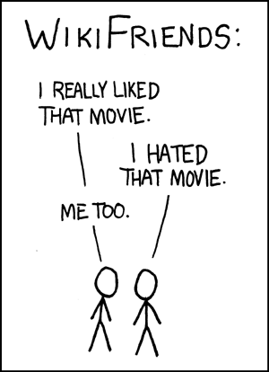WikiFriends from xkcd