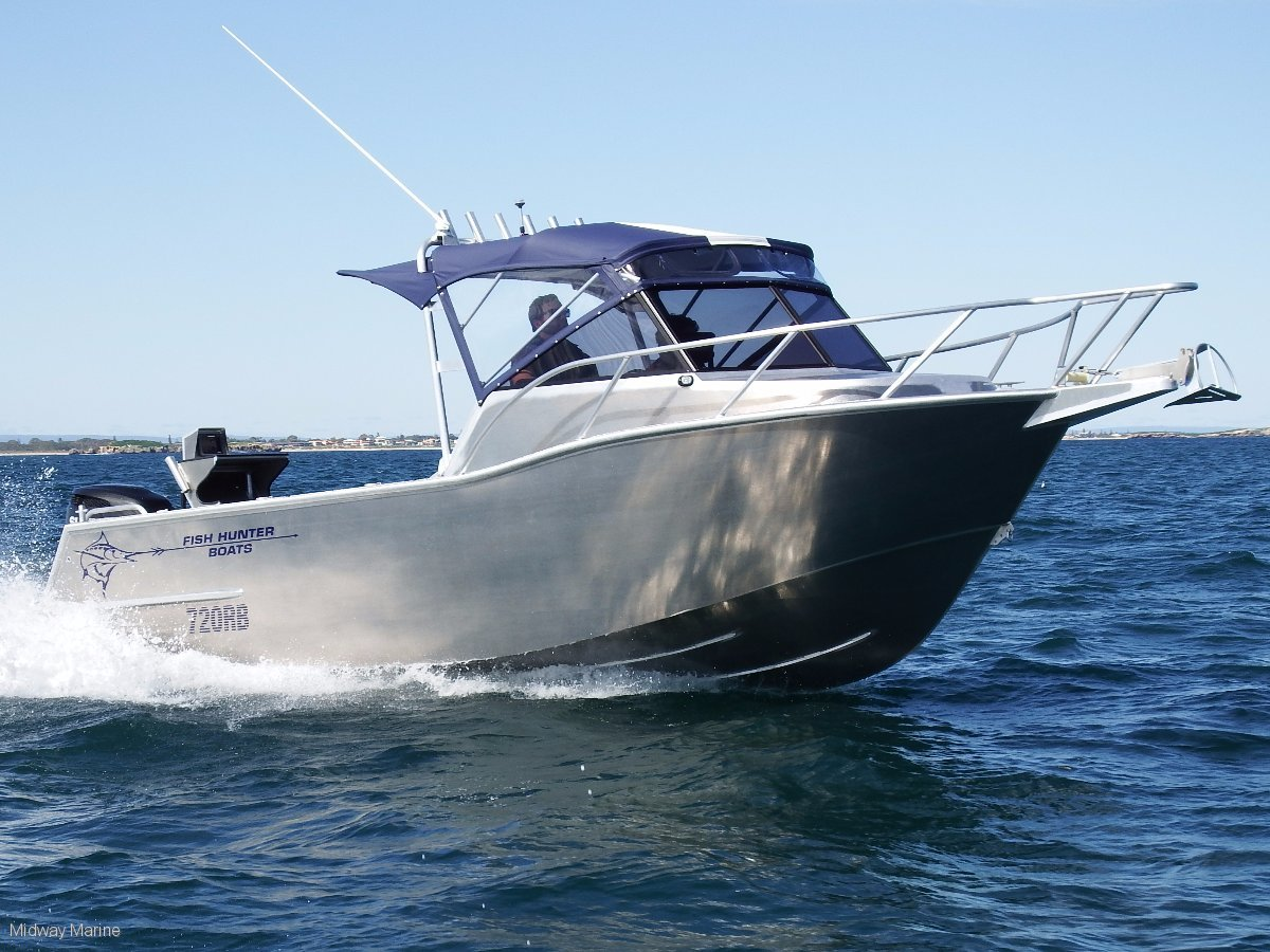 New Fish Hunter 720 Rb Plate Runabout Power Boats  Boats