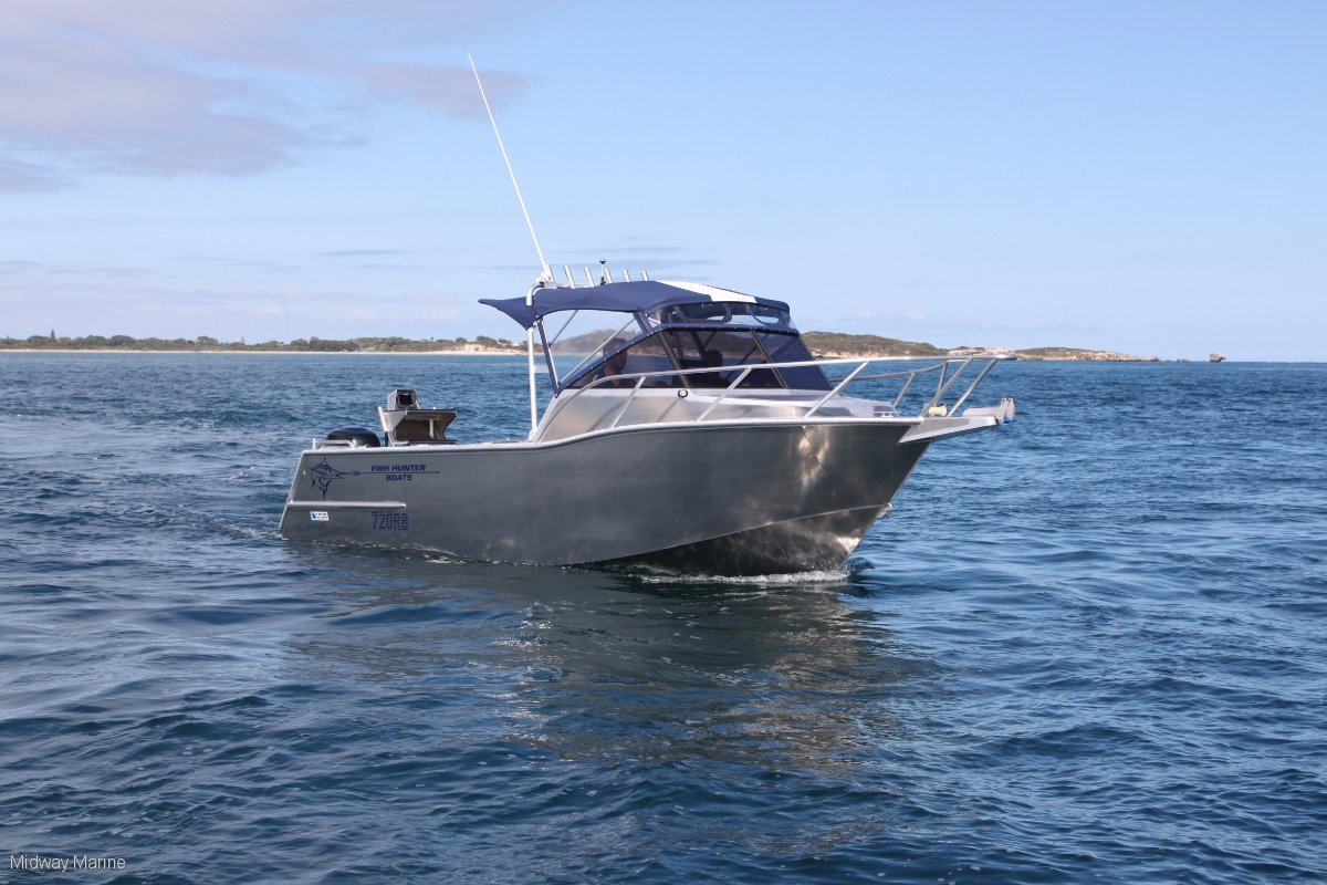 New Fish Hunter 720rb Excel Plate Runabout built To Order