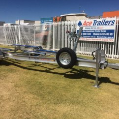 Boat Trailer Single Or Dual Axle Towing Wiring Diagram Uk Used Tandem Aluminium With Basic Skid
