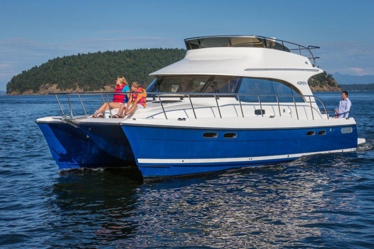 New Aspen Power Catamaran C120 Power Boats Boats Online
