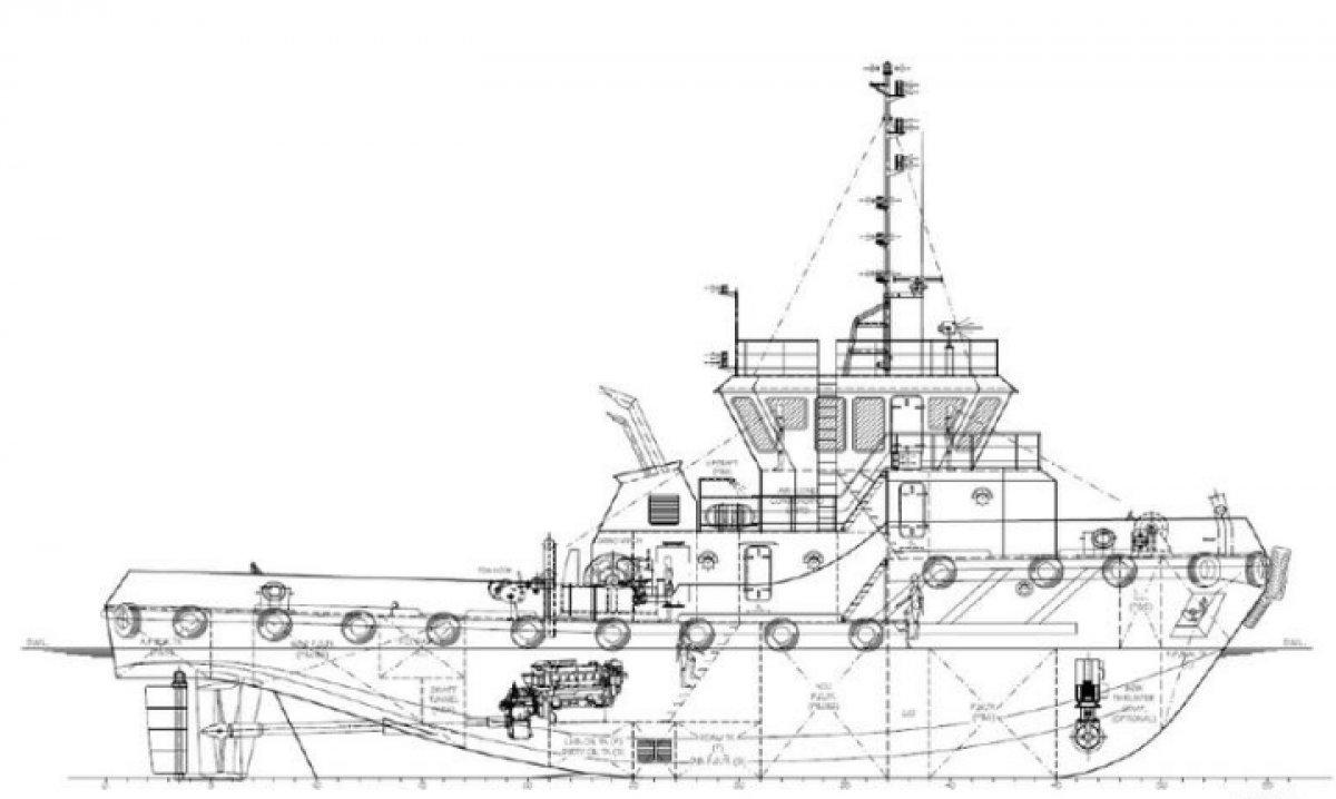New Sabrecraft Marine Tug Boat 26.00 Meter 35 Tonne