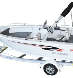 stacer 469 outlaw side console yamaha f50 50hp four stroke outboard motor [ 1200 x 720 Pixel ]