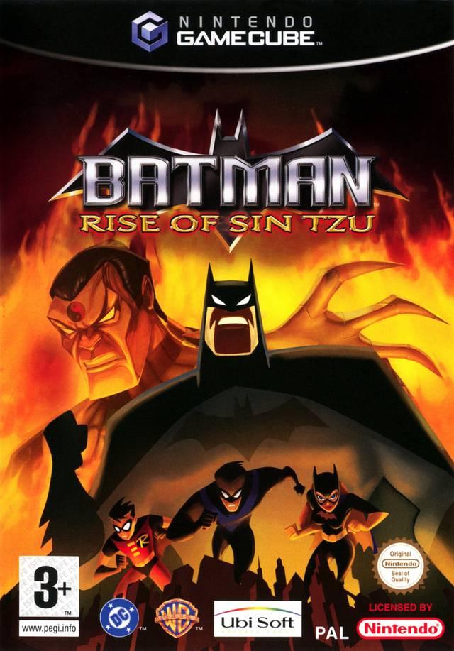 Batman Rise of Sin Tzu Gamecube ISO