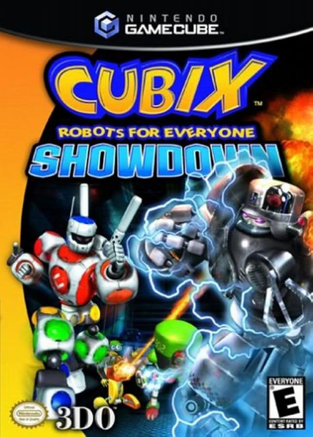 Cubix Robots For Everyone Showdown (USA) GameCube ISO