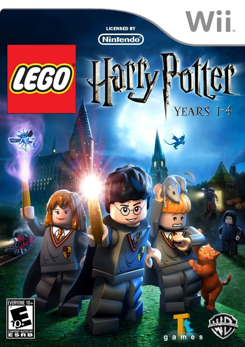 Lego Harry Potter Years 1 4 Usa Wii Iso