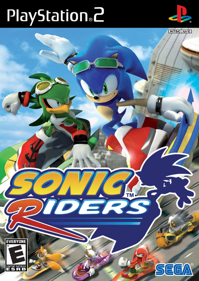 Sonic Riders Usa Ps2 Iso