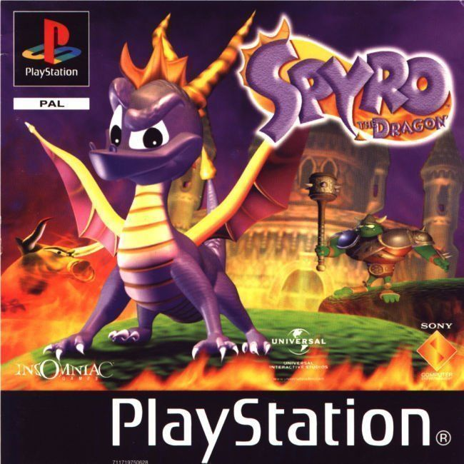 Spyro The Dragon Sces 01438 Europe Ps Iso