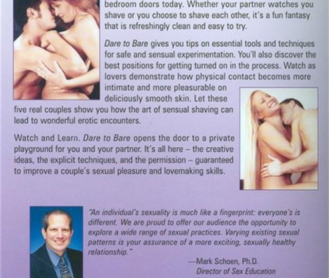 Dare To Bare Erotic Shaving And Sexual Pleasures
