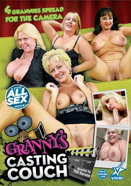 Granny's Casting Couch 2015 Adult DVD Empire