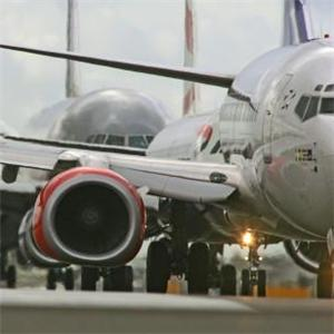 London airports buck traffic trend