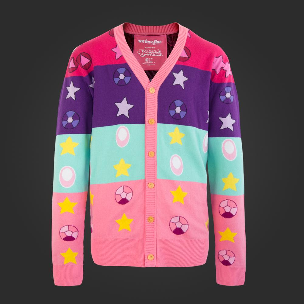 FOR FANS BY FANSSteven Universe Gems And Stars Cardigan