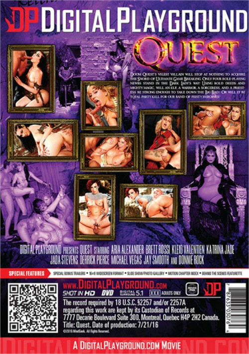 Digital Playground, Jada Stevens, Katrina Jade, Kleio Valentien, Brett Rossi, Aria Alexander, Derrick Pierce, Donnie Rock, Jay Smooth, Michael Vegas, All Sex, Blowjob, Blondes, Feature, Cosplay, Fantasy, Pussy Licking, Doggystyle, Missionary, Side Fuck, Cumshot, Clean-Up, Deep Throat, Cowgirl, Doggystyle, Reverse Cowgirl, Spoon, Facial, Indoors, Shaved Pussy, Quest