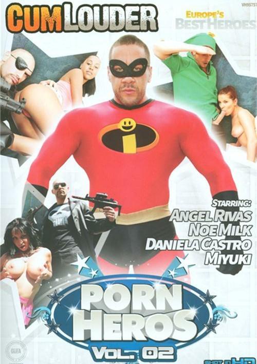 CumLouder Present Porn Heros Vol. 2 Parody Movies
