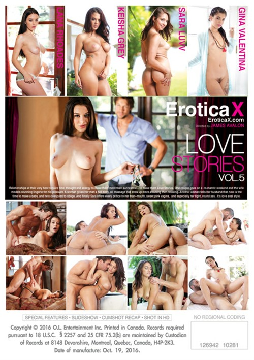 Erotica X, Keisha Grey, Sara Luvv, Gina Valentina, Lana Rhoades, All Sex, Couples, Prebooks, Love Stories 5
