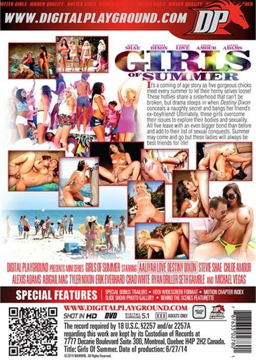 Girls Of Summer Porn DVD Digital Playground 2 Disc Set