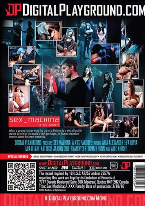 Sex Machina A XXX Parody,2016 Porn DVD, Jayden Cole, Eva Lovia, Aria Alexander, Mia Lelani, Kat Dior, Tommy Gunn, Alec Knight, Ryan Ryder, Digital Playground, Feature, Parody, Spoof