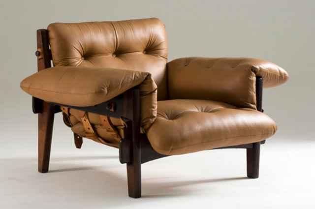 Poltrona Mole, clássico moderno do designer Sergio Rodrigues (1957) (MHN/Divulgação)