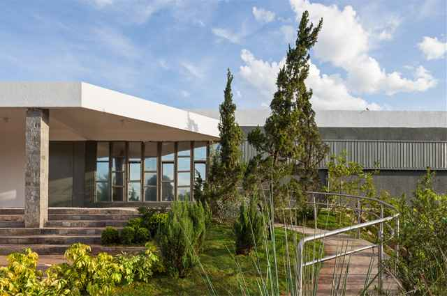 Mostra Morar Mais por Menos reúne 40 ambientes divididos em 2.340 metros quadrados, localizados no antigo Colégio Fênix (Lago Sul), até 15 de dezembro (Haruo Mikami/Divulgação)