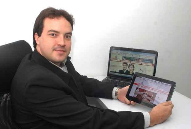 Rodrigo Araújo decidiu investir em uma das páginas de serviço mais buscadas do país, segundo o radarbit.com (Nando Chiappetta. DP/D.A Press)