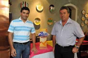 Renan Terra e Paulo Oliveira, superintendente e diretor da empresa: formato de franquia deve garantir crescimento de até 30% no faturamento (Armando Artoni/Divulgação)