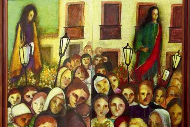 Para Dantas Suassuna, Tereza Costa Rêgo representa esse espírito de Olinda, do feminino.