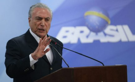 Presidente fala pela segunda vez em rede pública de televisão desde que houve vazamentos com seus áudios, feitos pelo empresário Joesley Batista Foto: José Cruz/Agência Brasil