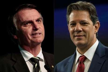 Os candidatos à Presidência da República ainda buscam apoio e votos. Fotos: AFP