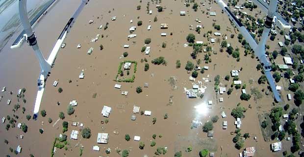 Inundaes deixam cerca de 70 mortos em Moambique