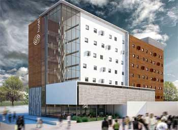 Em Barbacena, o novo shopping vai abrigar 120 lojas, hotel e imóveis de 2,3 e 4 quartos  (Capanema Gouvêa Desenvolvimento Imobiliário / Divulgação )