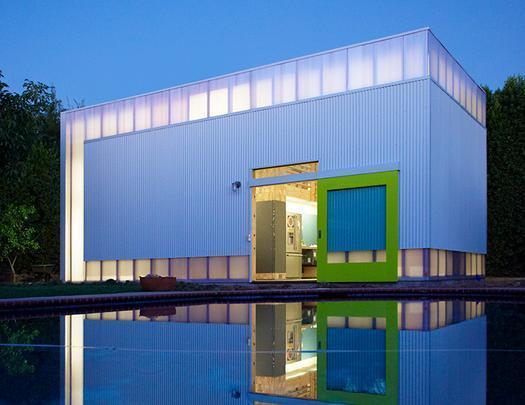 Informal House by Koning Eizenberg Architecture, Inc. - Várias construções são ligadas por jardins numa casa para quatro pessoas na California - Divulgação/AIA