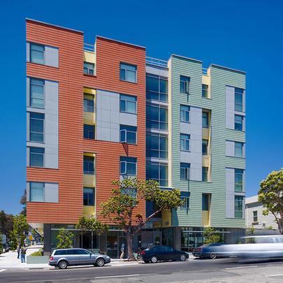 Merritt Crossing Senior Apartments by Leddy Maytum Stacy Architects - Divulgação/AIA