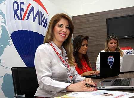Dona da imobiliária RE/MAX Mix, a empresária Elaine Takahashi percebe que levou vantagem por ser mulher (Edésio Ferreira/EM/D.A Press)