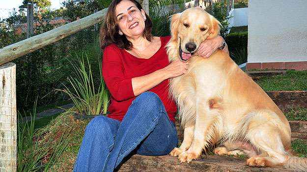 Há seis anos em Lagoa Santa, a empresária Márcia Cunha diz que é possível ter mais amizades e uma vida mais humana (Eduardo de Almeida/RA Studio)