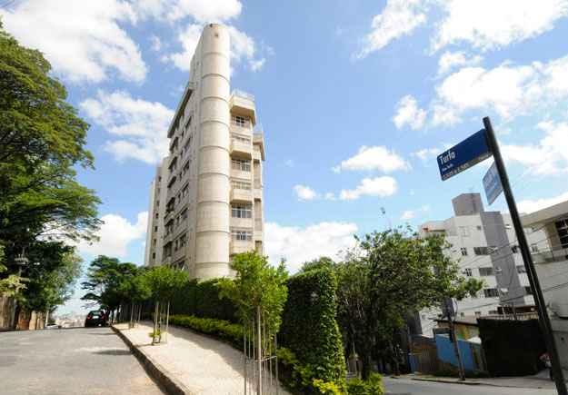 O bairro tem ruas tranquilas, com imóveis de alto padrão, que despertam interesse (Jair Amaral/EM/D.A Press)