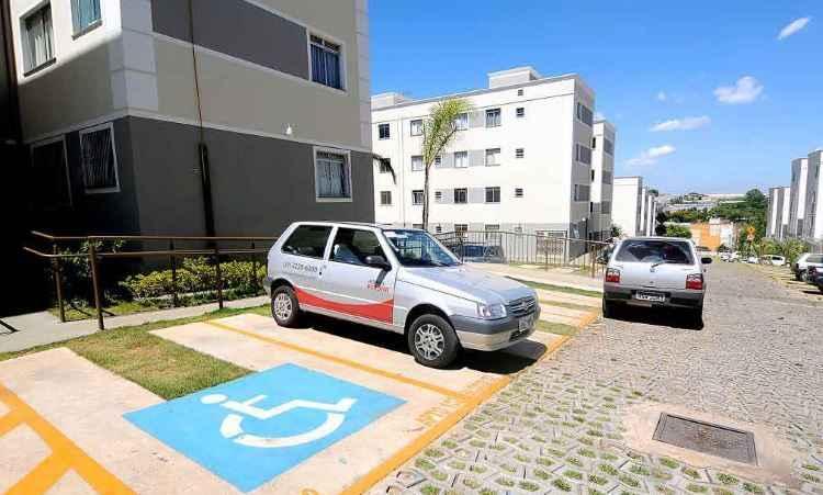 Conjunto habitacional construído pela MRV Engenharia conta com acessibilidade para portadores de deficiências - Beto Novaes/EM/D.A Press 28/1/14