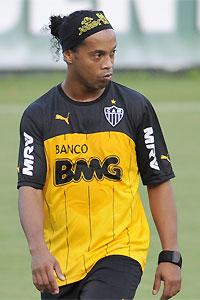 Ronaldinho volta ao Galo para a decisão contra o arquirrival (Juarez Rodrigues/EM/D.A Press. )