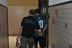 Ação da polícia deve cumprir nove mandados de prisão em vários endereços do DF (Breno Fortes/CB/DA Press)